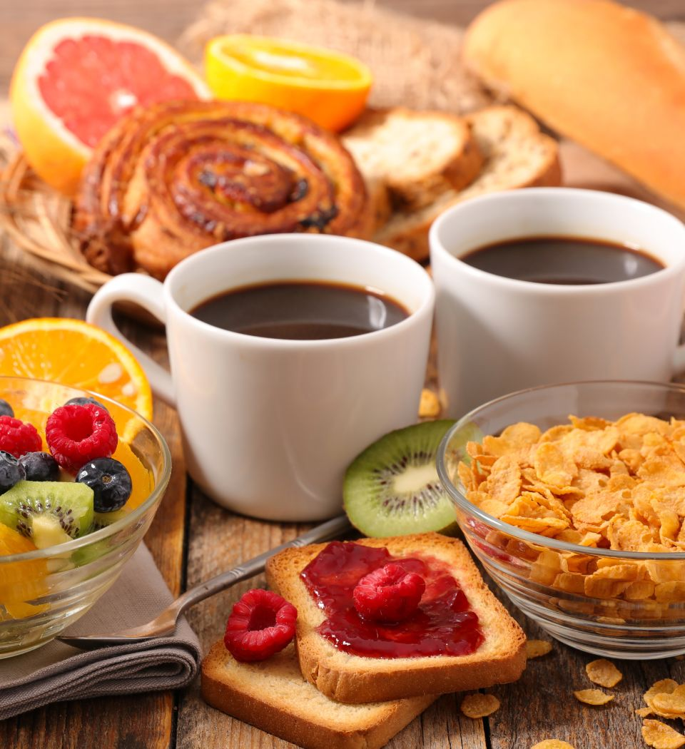 Book Direct & enjoy a complimentary breakfast