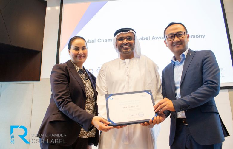TIME Hotels labeled CSR leader by Dubai Chamber for fifth consecutive year