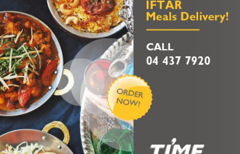 Iftar Meal Delivery